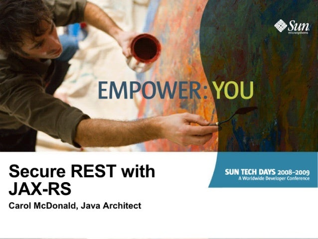Secure REST with JAX-RS