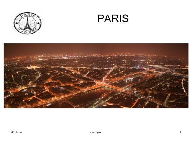 PARIS  04/01/14  azertyui  1
