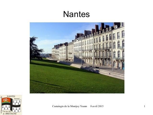 Castaingts de la Montjoy Yoann 8 avril 2015 1 Nantes