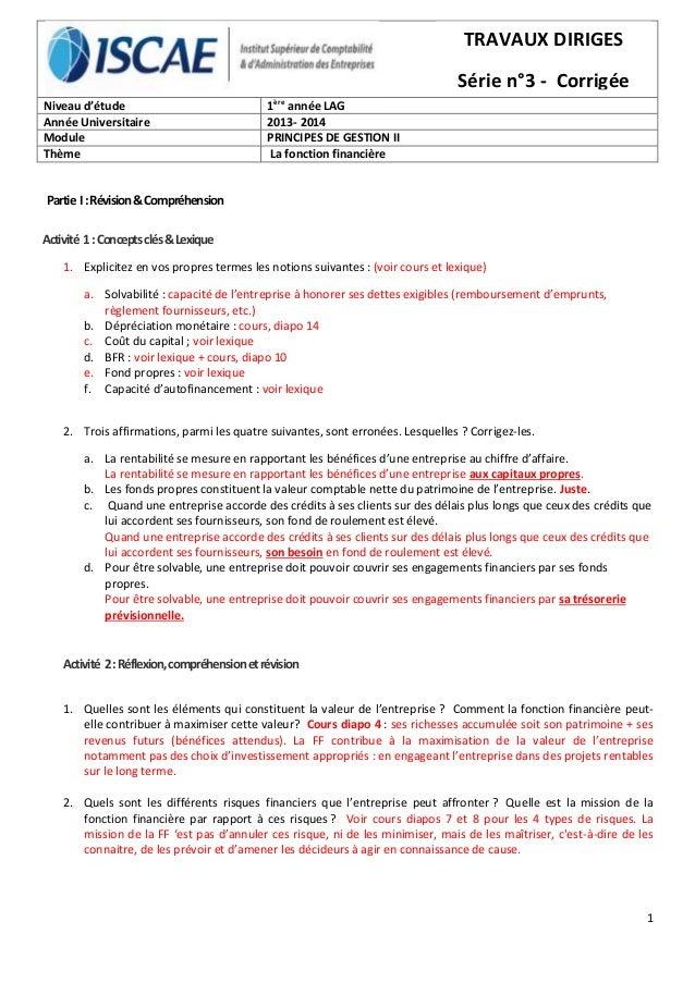 1 Partie I:Révision&Compréhension Activité 1:Conceptsclés&Lexique 1. Explicitez en vos propres termes les notions suivante...