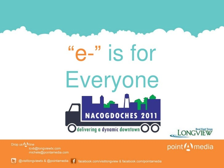 e-is for Everyone