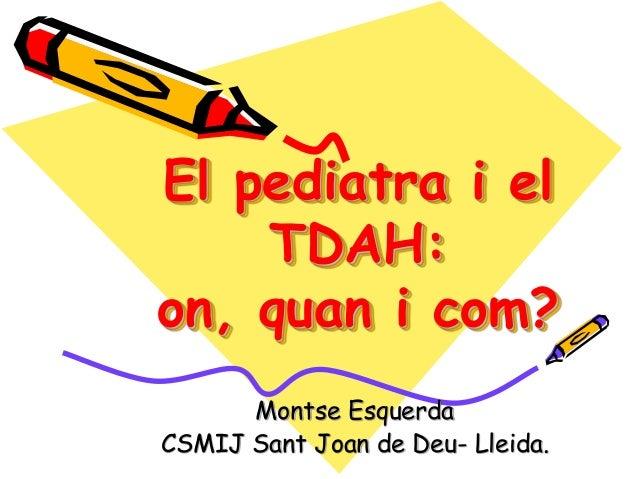 TDAH 2013 1a part