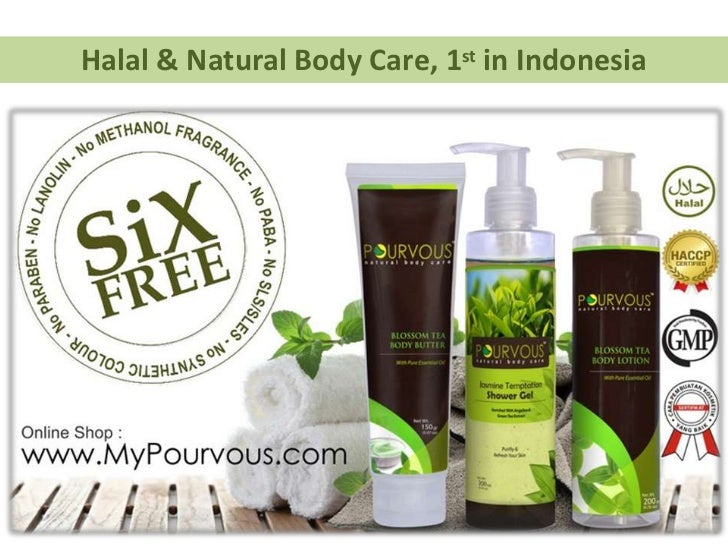 Halal & Natural Body Care, 1st in Indonesia