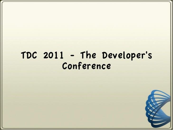 TDC 2011 Trilha de Teste