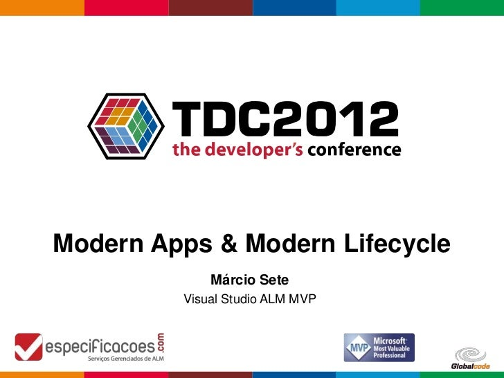 Modern Apps & Modern Lifecycle