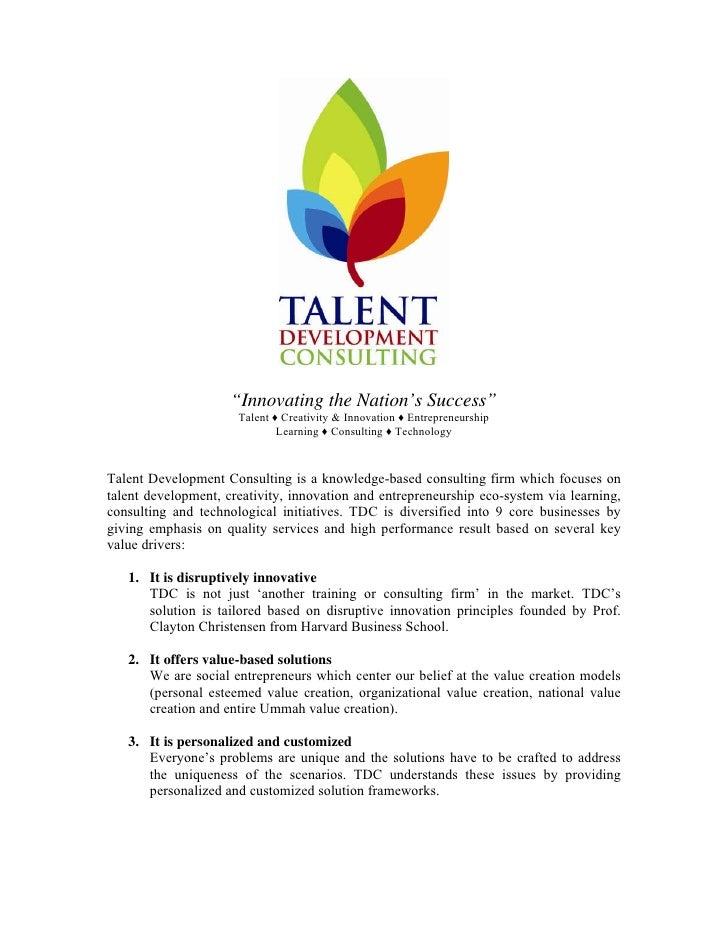 """Innovating the Nation's Success""                       Talent ♦ Creativity & Innovation ♦ Entrepreneurship               ..."