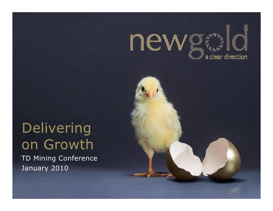 NewGoldInc Corporate Presentation