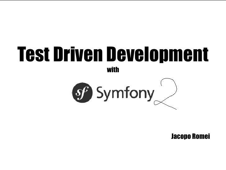 Test Driven Development with Jacopo Romei