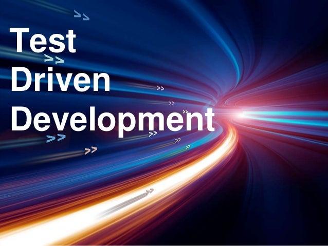 Test driven development demo