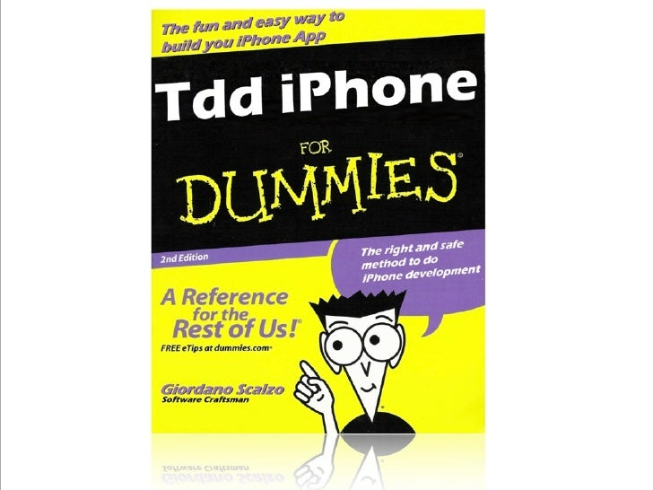 Tdd iPhone For Dummies