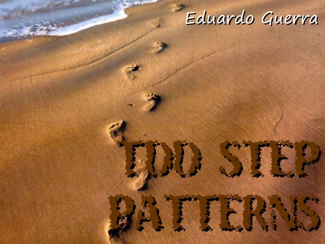 Eduardo GuerraTDD STEPPATTERNS