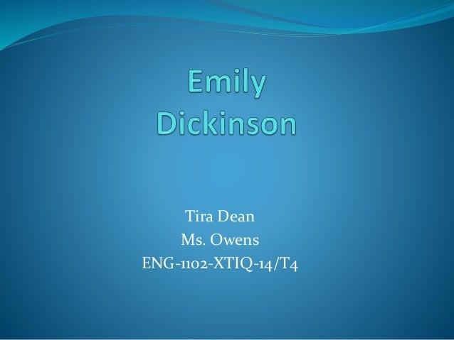 Tira Dean Ms. Owens ENG-1102-XTIQ-14/T4