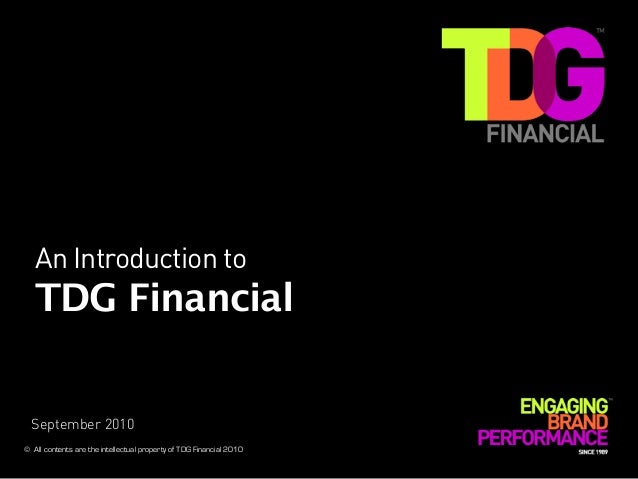 Tdg Financial   General Credentials[1]