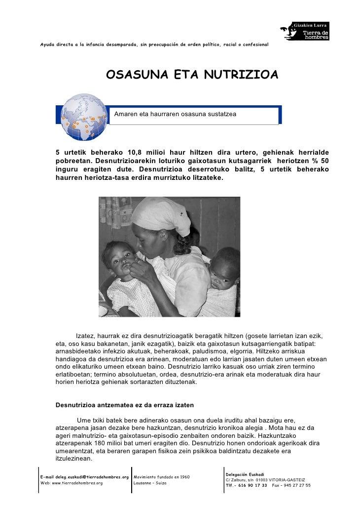 Tdh   salud y nutrición-euskera