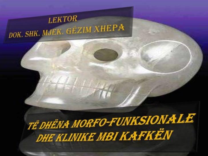 Kafka si regjion skeletik              Kafka është              regjion skeletik me              rëndësi jetike, pasi     ...