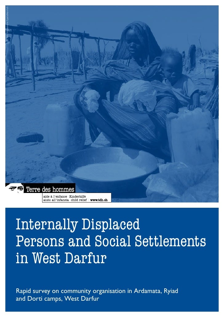 Tdh study internally_displaced_persons_and_social_settlements_west_darfur_2010_en