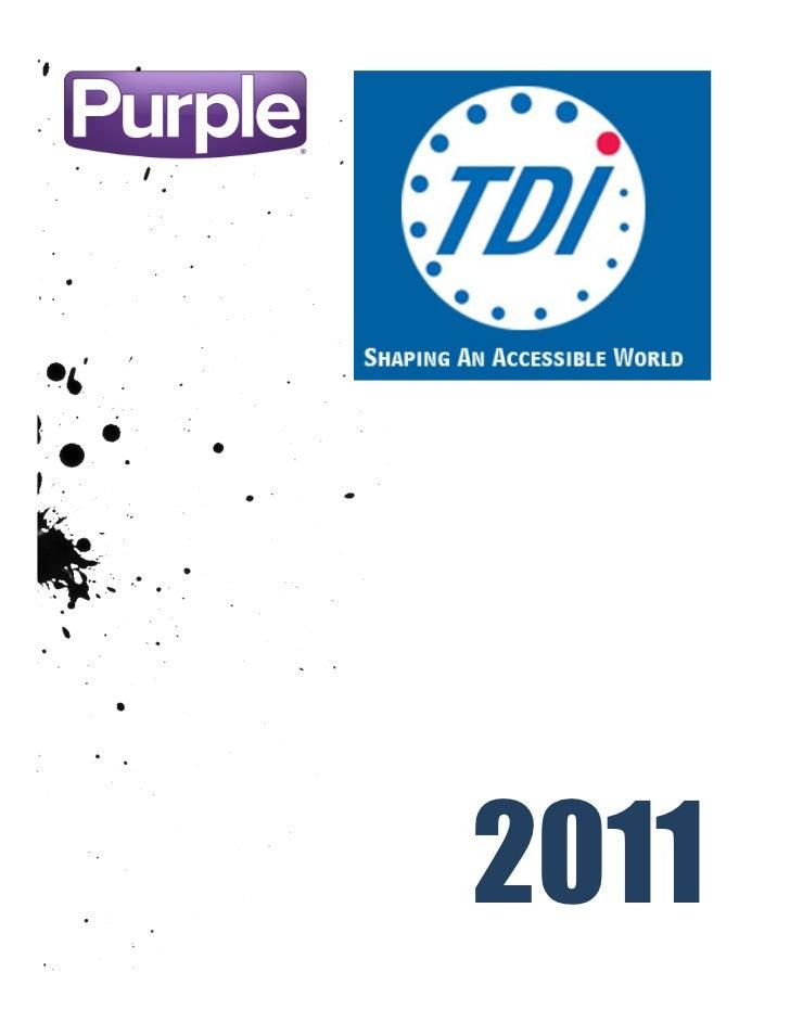 2011 TDI Conference Social Media Guide