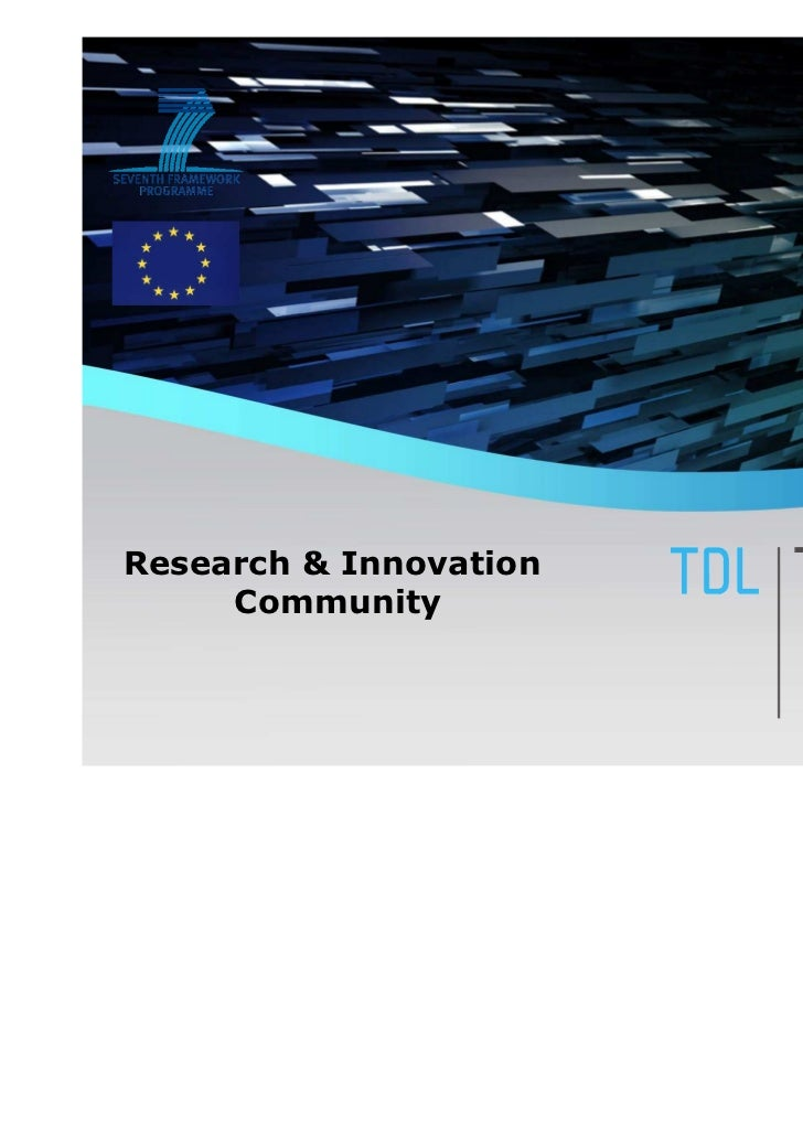 Research & Innovation     Community