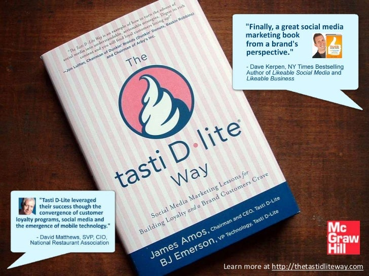 The Tasti D-Lite Way