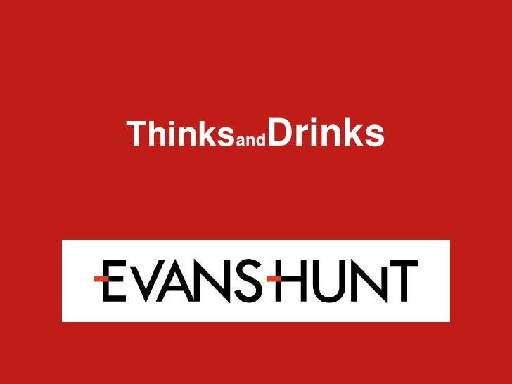ThinksandDrinks<br />