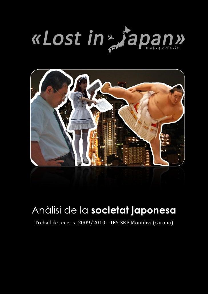 Lost in Japan: Anàlisi de la societat japonesa