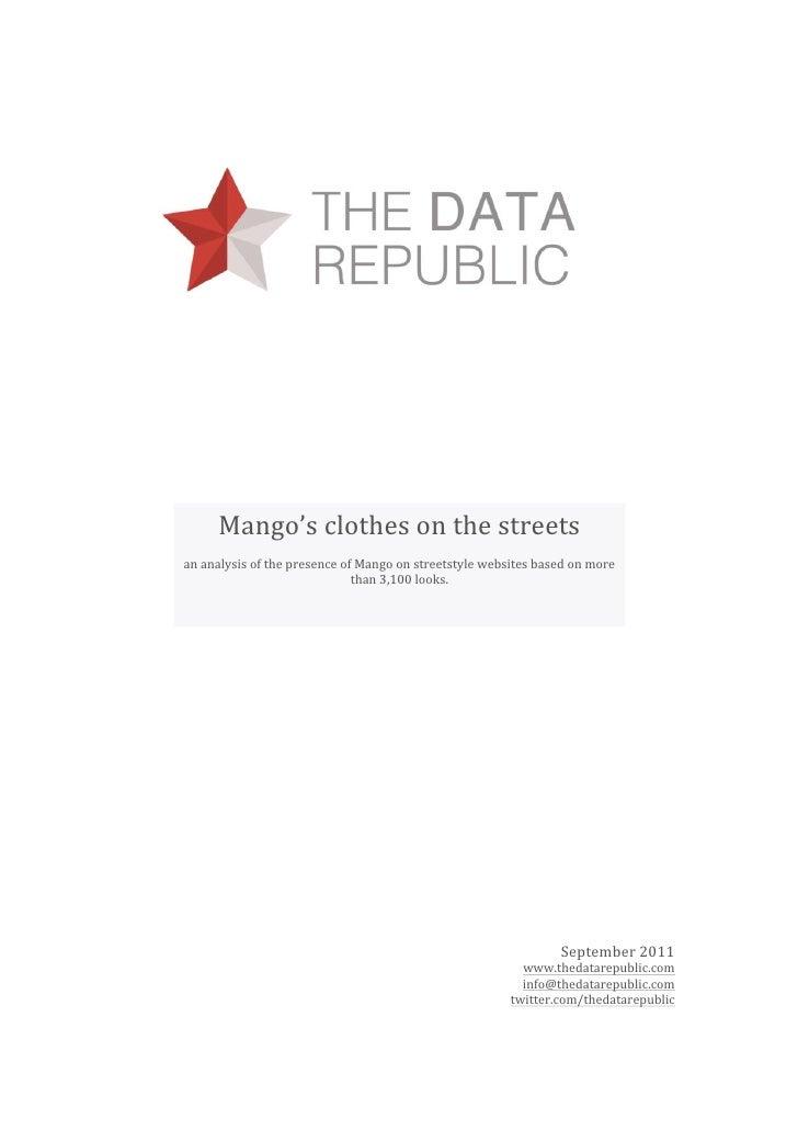 Mango'sclothesonthestreets     ananalysisofthepresenceofMangoonstreetstylewebsitesbasedonm...