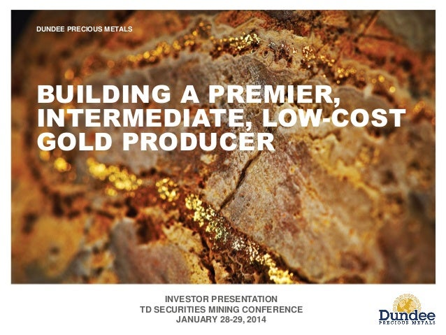 Td securities 2014 mining conference