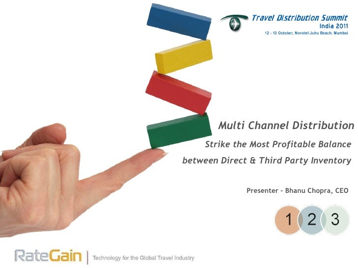 Strike the Most Profitable Balance between Direct & Third Party Inventory Multi Channel Distribution Presenter – Bhanu Cho...