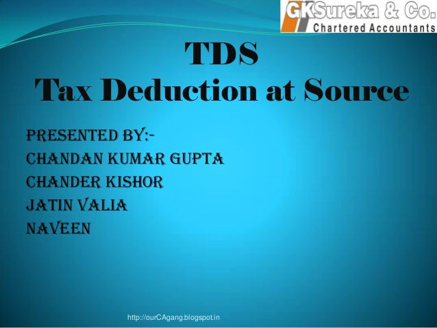 tax deducted at source Tds - tax deduction at source tds rate fy 2016-17, 17-18 and ay 2017-18, 2018-19 in slight relief to the tax payer, effective from 1st june 2016, the government has reduced the applicable tds rate for commission and payment in respect of lic policy.