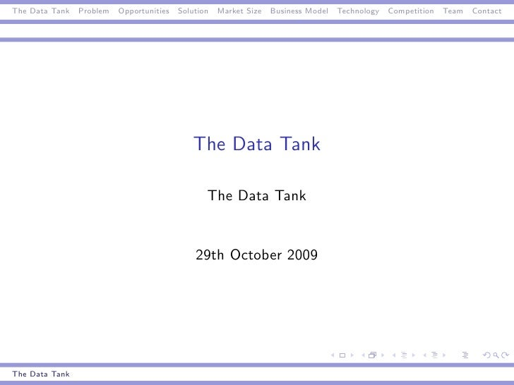 The DataTank