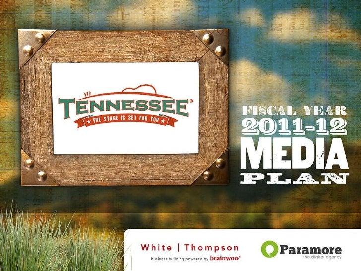 TDTD Online Media Plan Slides 2011/12FY