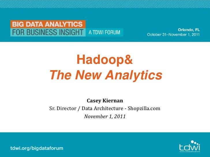 2011 - TDWI Big Data Forum - The New Analytics