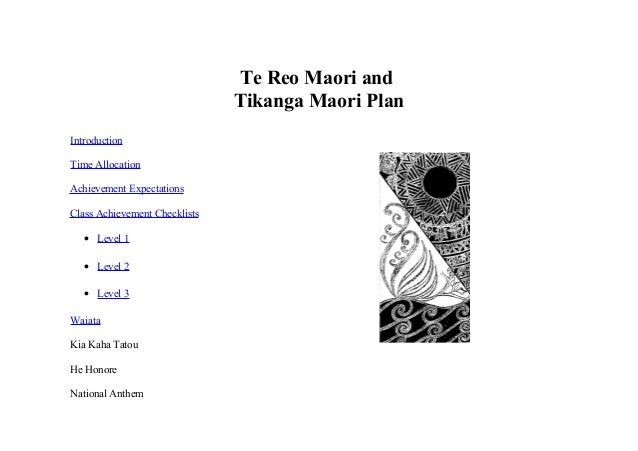 should te reo maori be compulsory in all schools essay Government defends compulsory maori basics programme nzpa friday june mentioned the programme yesterday after receiving a maori youth council report that recommended introducing compulsory te reo tertiary study for secondary school teachers to improve their ability to communicate.