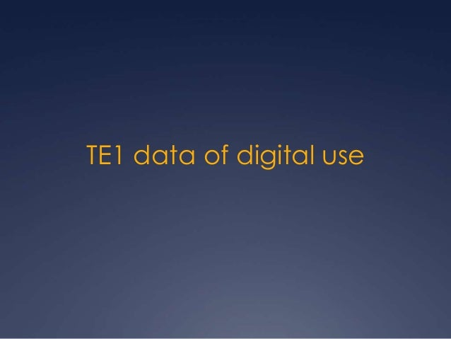 Te1 data