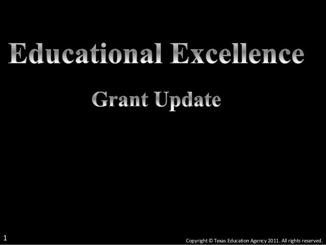 Copyright © Texas Education Agency 2011. All rights reserved.1