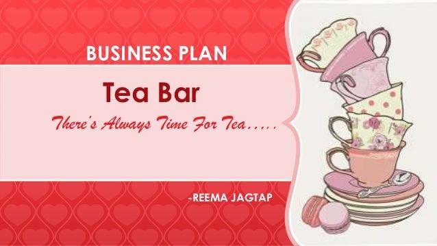 Tea bar -Business plan