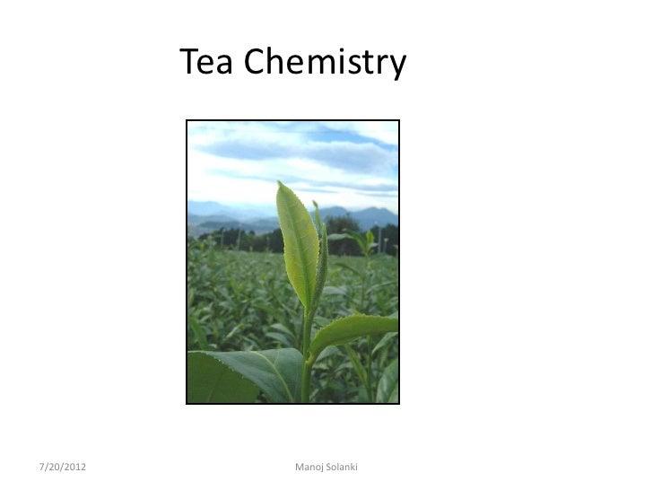 Tea chemistry