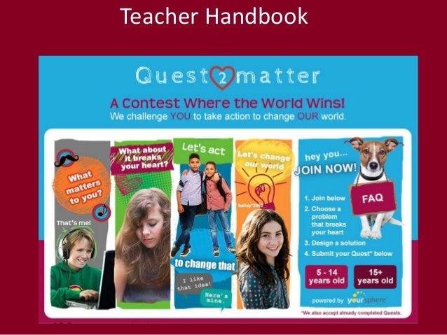 Quest2Matter Teacher Handbook