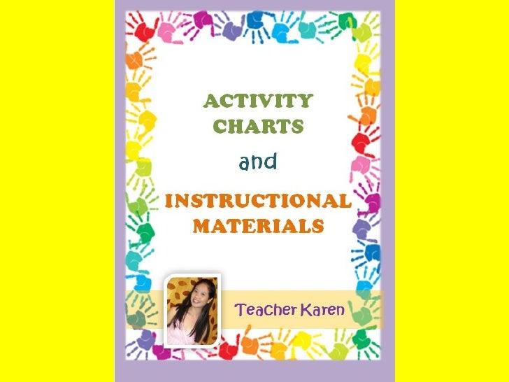 Teacher made worksheets instructional materials
