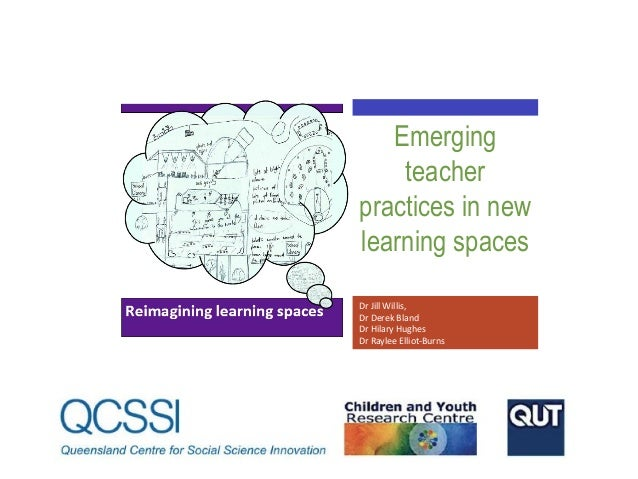 Emerging teacher practices in new learning spaces Dr Jill Willis, Dr Derek Bland Dr Hilary Hughes Dr Raylee Elliot-Burns