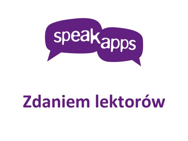 Teachers Voices outline - Polish