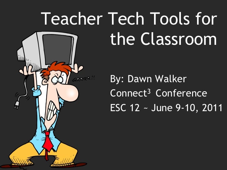 Teacher tech tools connect3