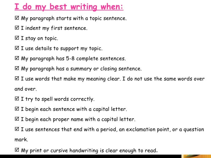 Write my making a good essay