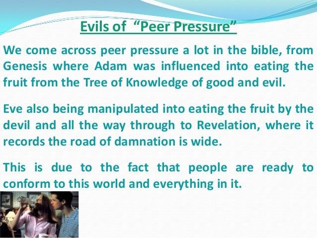 Effects Of Peer Pressure Essay