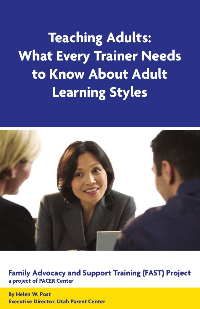 Fry and adult learning styles