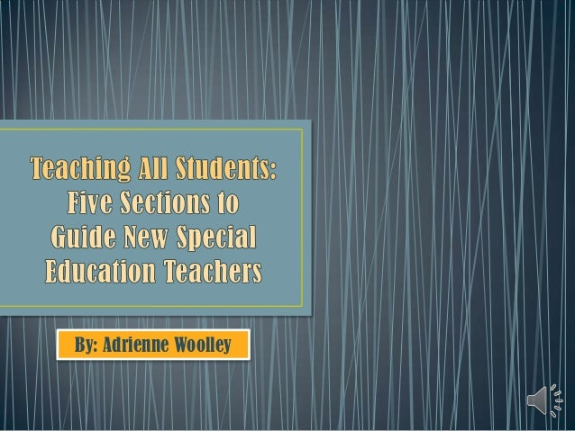 Teaching all students (ch.5) 3.6.13