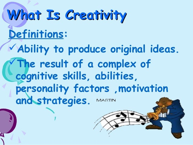 Creativity writing