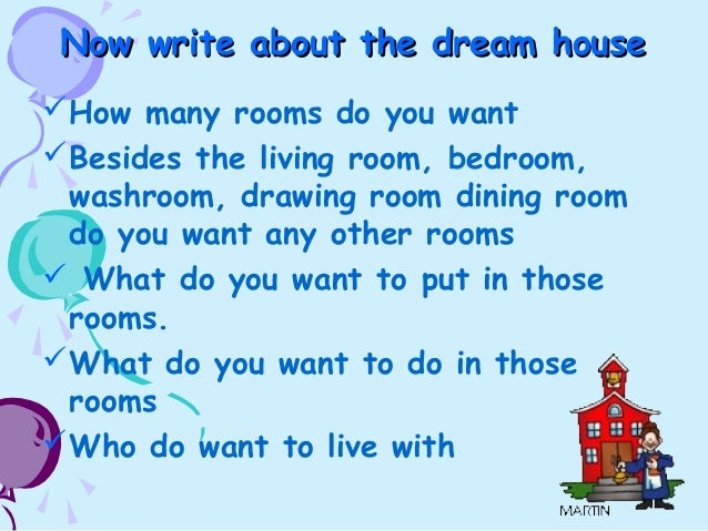 my dream house simple essay