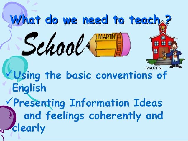A Few Simple Basics in Teaching Creative Writing to Children