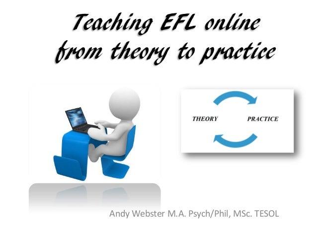 Teaching efl online ppt